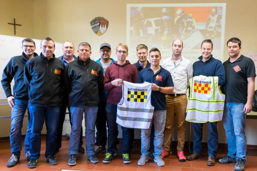 Feuerwehr Bergrheinfeld bildet Sicherheitsassistenten aus